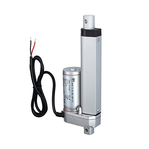 """ECO-WORTHY 6/"""" Stroke Linear Actuator 12 Volt 330 Pounds Lbs Maximum Lift with Mo"""