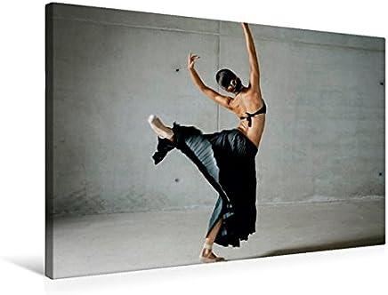 Danza Leggera Ballerina in Una Lunga Gonna Nera, 75x50 cm