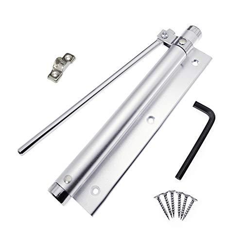 YUOIP® Lega di alluminio leggero chiudiporta regolabile montaggio a chiusura automatica per porte 20~40kg (1 Pezzi)