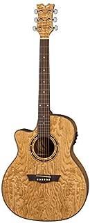 Dean Exotica Quilt Ash Lefty Acoustic-Electric Guitar, Gloss Natural