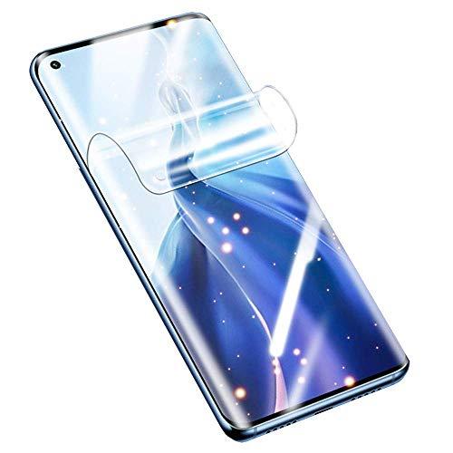 SOMEFUN【2 Piezas】Protector de Pantalla Compatible con Xiaomi Mi 10T / 10T Pro 5G 6.67Pulgadas Película de Hidrogel de TPU Suave de Cubierta Completa [Vidrio no templado,Transparente]