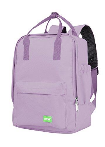 blnbag U3 - kleiner Rucksack mit Fronttasche, kleines Handgepäck Backpack für Ryanair, leichter Tagesrucksack, Daypack Damen und Herren, 10 Liter, Lila
