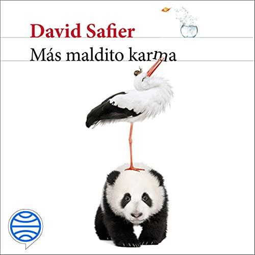 Diseño de la portada del título Más maldito karma