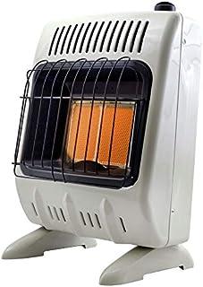 Mr. Heater Corporation F299811 Natural Gas Heater, 10000 BTU, White and Black