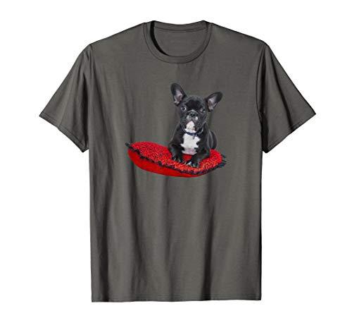 French Bulldog Gifts - Cute Frenchie Bull Dog Puppy Love T-Shirt