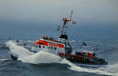 AK Seenotkreuzer mit Tochterboot der 23 m-Klasse Minden - Vormann Leiss