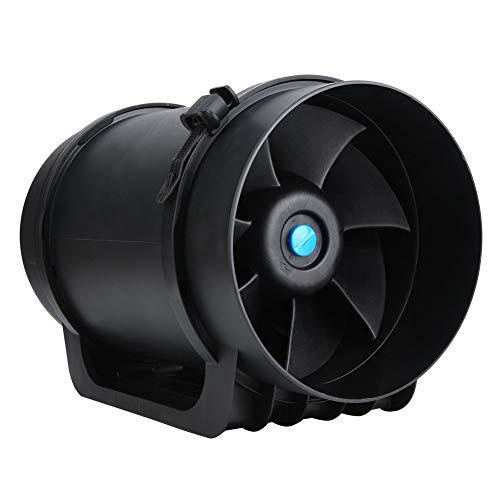 Ventilador para conductos, suministros de construcción 760CFM, motor de 8 pulgadas para el hogar(220V)