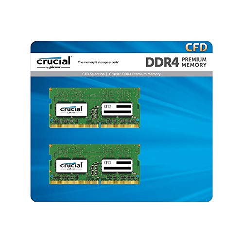 CFD販売 ノートPC用メモリ PC4-21300(DDR4-2666) 8GB×2枚 260pin (無期限保証)(Crucial by Micron) W4N2666...