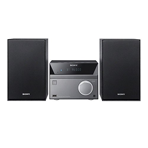 Sony CMT-SBT40D Sistema Hi-Fi, Potenza 50W, Lettore CD, Radio FM, USB, Bluetooth, NFC, Nero