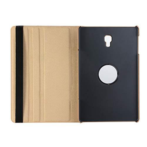Lobwerk Case für Samsung Galaxy Tab A SM-T590 T595 10.5 Zoll Schutzhülle Smart Cover Hülle 360° Drehbar + Touchpen Gold