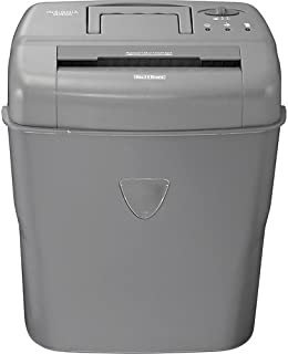 Insignia - 10-sheet Crosscut Shredder – Gray Model: Ns-ps10cc