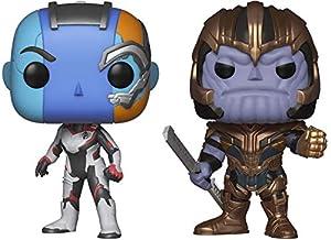 Funko UT-56454 Amazon bundle - Avengers Asst (Pop) Collectible Toy, Multicolour (Pack of 2)