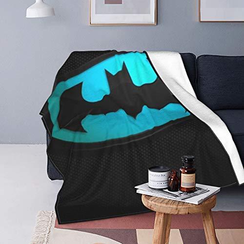 Why So Serious Joker Batman, manta de forro polar, para todas las estaciones, ligera, cálida y súper suave, para cama, sofá y sofá, 125 x 150 cm