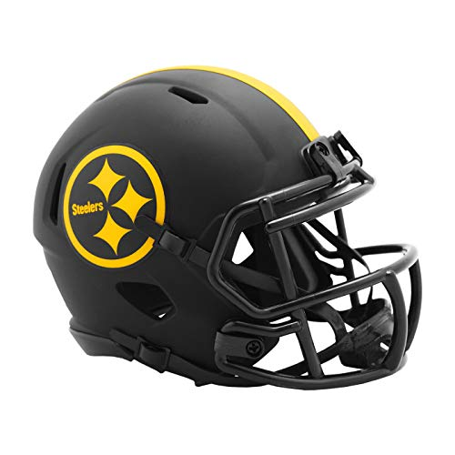Riddell Pittsburgh Steelers 2020 Black Revolution Speed Mini Football Helmet