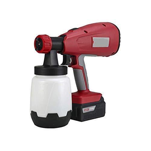 Sdesign Rociador de pintura, pistola de pulverización eléctrica de 550W DIY, tazas...