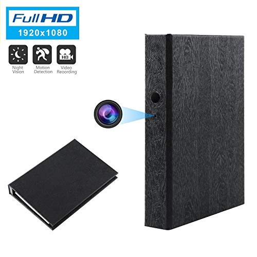 GooSpy Spy Camera Book Hidden Camera HD 1080P Nanny...