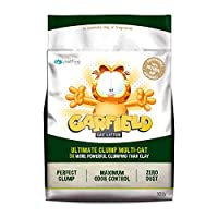 Garfield Cat Litter 10lb(4.54kg)トイレに流せる猫砂「肉球にやさしい極小粒子」