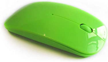 hutishop2020 Wireless Mouse, Universal Laptop PC Computer 2.4GHz Battery Powered Wireless USB Optical Mouse Green