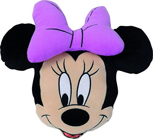 CTI 041907 3D Kissen Disney Minnie Stylish Pink, Polyester, Durchmesser 38 cm