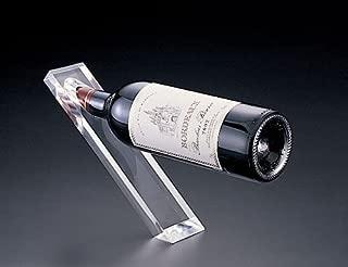 Counter Balanced Acrylic Single Wine Bottle Holder