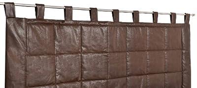 Color: chocolate Dimensiones: 70 x 160 cm Forro: 67 % poliéster 33 % algodón Guata : 100 % poliéster (Anti -ácaros )
