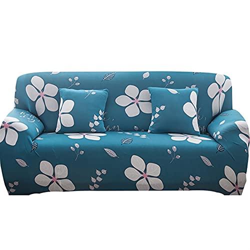 HMGANG Sofá estirado elástico Sofa Sofa Caja de sofá Todo Incluido para la Sala de Estar Cubierta de sofá 1/2/3/4 plazas (Color : 26, Specification : 1 Seat 90 140cm)