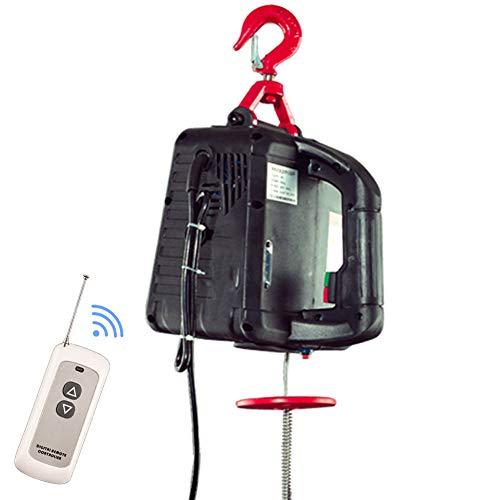 Mini polipasto eléctrico, grúa de 220 V, pequeño polipasto de elevación para...