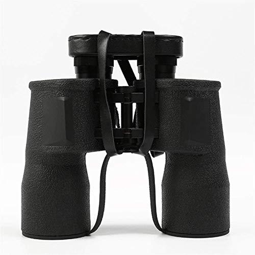 ASDF 10x50 potentes binoculares telescopio Gran Angular BAK4 Prisma FMC Lente Impermeable con Poca luz binoculares de visión Nocturna para Adultos