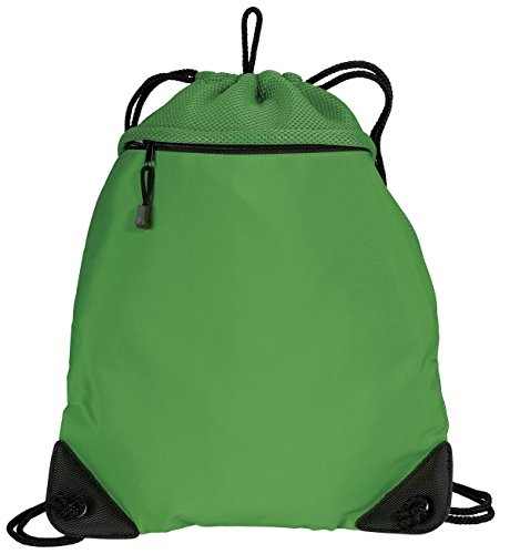 Port Authority® - Cinch Pack with Mesh Trim. BG810 Cactus OSFA