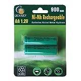 Galix Batería de Reemplazo NiMh 900 mAh