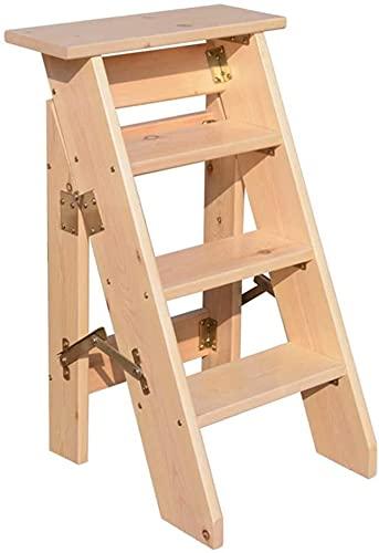 jiaju Taburete de Escalera para Adultos Plegables de la Escalera portátil, Silla de la Escalera doméstica STEPLADERS LIGHTWEED Home Jardin HERRAMENTE / E2 / E2