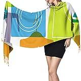 Moda creativa lindo electrodoméstico señora chal abrigo chal y abrigos para mujer cachemir bufanda larga 77x27 pulgadas / 196x68 cm grande suave pashmina extra cálido