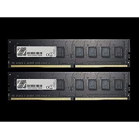 G.Skill DDR4メモリ DDR4-2666 16GBKit(8GB×2枚組)国内正規品 OVERCLOCK WORKS購入限定特典ステッカー付き F4-2666C19D-16GNT