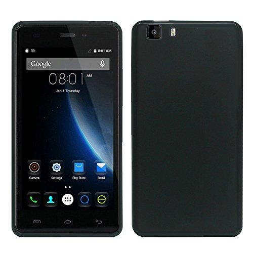 HCN PHONE Doogee X5/X5S/X5 Profi Etui Hülle TPU Silikon- Gel Flexibel Ultra- Schlank für Doogee X5/X5S/X5 Profi - SCHWARZ