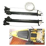 ZRNG 1set de Aluminio Pieles de Pieles Pedal Pets Piloto Control de dirección Sistema de dirección...