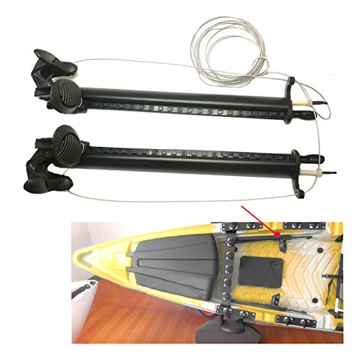 ZRNG 1set de Aluminio Pieles de Pieles Pedal Pets Piloto Control de...