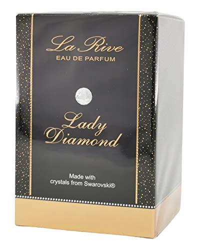 La Rive Eau de Perfume Lady Diamond para mujer, 75 ml
