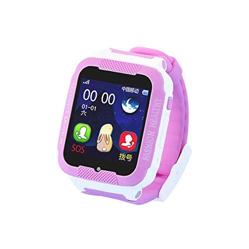 yankai Smart Watch Kinder,Kinderanrufuhr, 1,5-Zoll-Touch-Uhr, wasserdichte WLAN-Multifunktionspositionierung, Intelligente Erinnerung, Geringe Strahlung, SIM-Karte Kann Eingelegt Werden