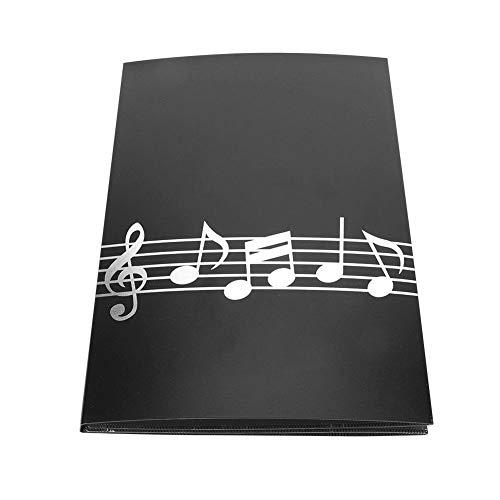 A4 Größe 6 Seiten Notenordner Klavier Notenordner für Spieler, Musiker, Studenten