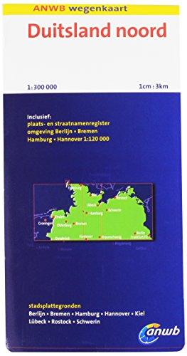 Duitsland Noord: schaal 1:300.000