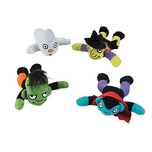 Affordable Fun Express - Plush Halloween Assortment for Halloween - Toys - Plush - Bean Bag Animals ...