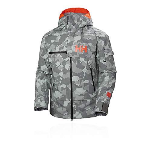 Helly Hansen Garibaldi Jacket Chaqueta, Hombre, 971 Quiet Shade Camo, M