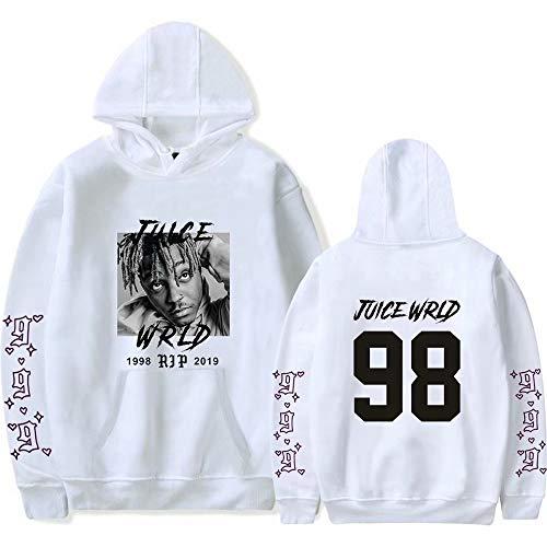 Juice Wrld Hoodie Fan Unterstützung Hoodies Hip Hop Sweatshirt Street Style Pullover Jacke Sportswear für Männer Frauen Kinder
