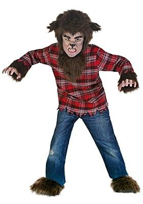 Werewolf Costume Kids Fierce Werewolf Costume for Children Small (7-8) from Fun Costumes