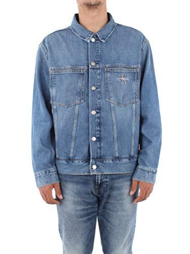 Calvin Klein Jeans Herren Oversized Iconics Omega Jacket Jacke, Ca048 Mittelblau, M