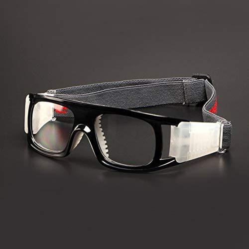 EdBerk74 Anti-Schlag Stoß- Sport Basketball Fußball Brillen Sport- und Skibrillen Atem Erwachsener PC Objektiv Schutzbrille
