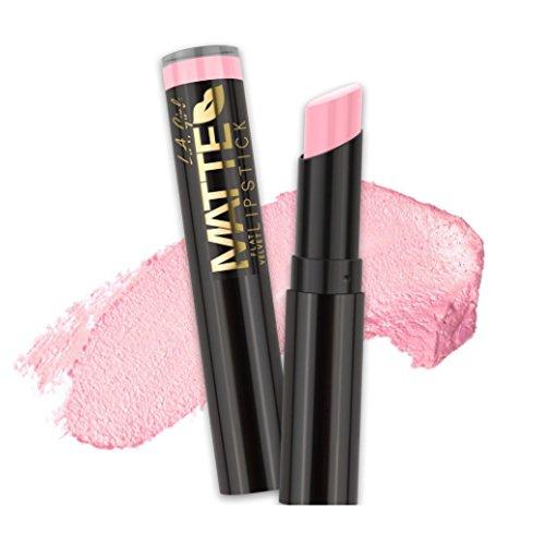 (3 Pack) L.A. GIRL Matte Flat Velvet Lipstick - Carried Away