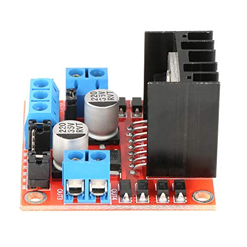 Stepper Motor Driver, Made of Metal 25W Convenient Motor Driver for Stepper Motor Smart Car Robot