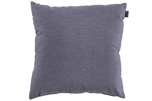 Hartman Samson Zierkissen in mid Grey, Sofakissen Sunbrella-Textil, Deko-Kissen 45x45cm, Outdoor Polster für Gartenmöbel