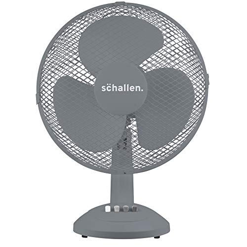 Schallen Home & Office Electric 12' 3 Speed Electric Tilt Oscillating...